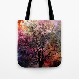 Van Goghs Orion Nebula by Barbara Chichester Tote Bag