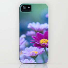 Daisy Love - Pink Marguerite Flower #1 #decor #art #society6 iPhone Case