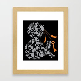 andnothing. Framed Art Print