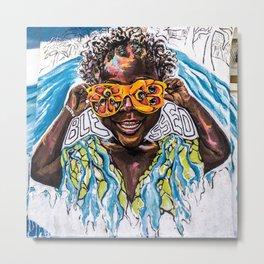 """""""Ackee Eyes"""" / PAINT JAMAICA Metal Print"""