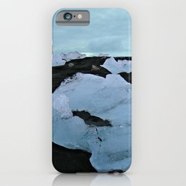 Diamonds in the Black Sand iPhone Case