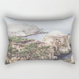 Ocean Salt Flats - California Landscape Photography Rectangular Pillow