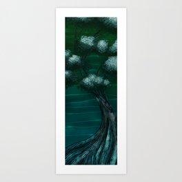 G. Bonsai Art Print
