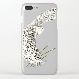 The Ungava Collection: The Snowy Owl Clear iPhone Case