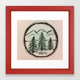 Adirondacks Framed Art Print