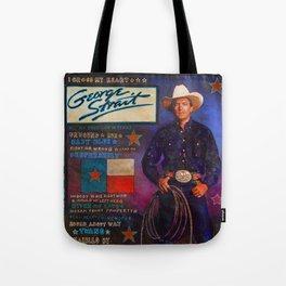 George Strait Tote Bag