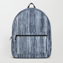 Blue Watercolor Wood Grain Stripe Backpack