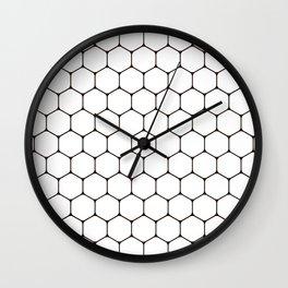 minimal rhombus pattern Wall Clock