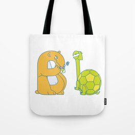 B Uppercase/Lowercase Pair, no border Tote Bag