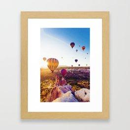 Capadocia, Turkey Framed Art Print