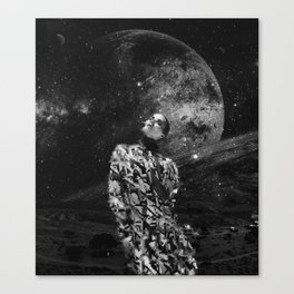 child of the universe. Canvas Print