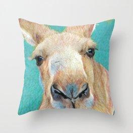 Roo Roo Throw Pillow