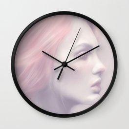 Silver by Amelia Millard Wall Clock