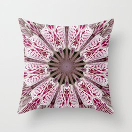 Flower from the Future? Throw Pillow