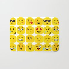 Emoji-Minifigure Bath Mat
