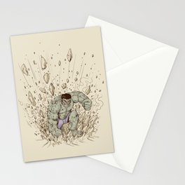 Hulk Smash Stationery Cards