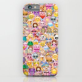 emoji / emoticons iPhone Case