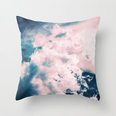 Aerial Sea Throw Pillow