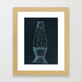 Moody and Groovy Framed Art Print