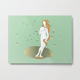 minimally botticelli Metal Print