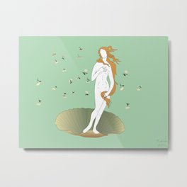 minimally botticelli Metal Print