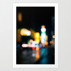 Times Square Empty Art Print