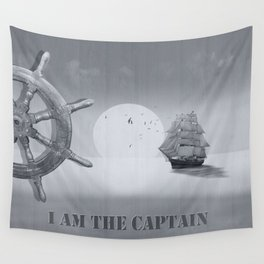 I am the captain Wall Tapestry