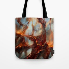 Bloodstained Mire Tote Bag