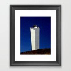 Cape Jervis Lighthouse #1 Framed Art Print