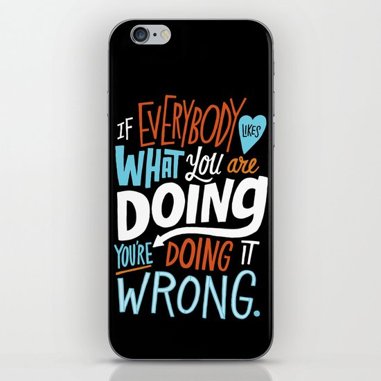 Doing it Wrong iPhone & iPod Skin