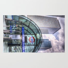 London Tube Station Rug