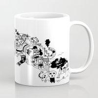 cuba Mugs featuring CUBA by gabriel