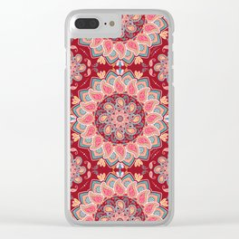 Elegant Paisley Clear iPhone Case