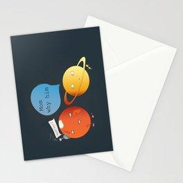 mom why him ? - mars  Stationery Cards