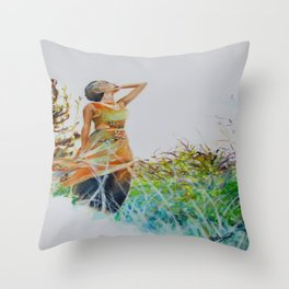 """Freedom"" Throw Pillow"