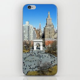 Washington Square Park, NYC iPhone Skin