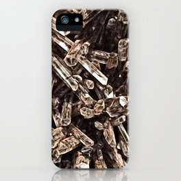 Mexican Gypsum Filtered iPhone Case