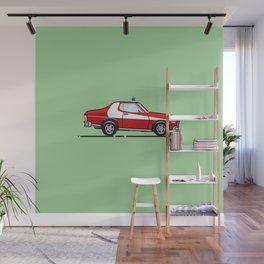 Starsky 7 Hutch Ford Torino Wall Mural