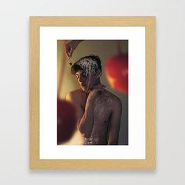 Sundae Framed Art Print