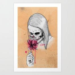 sweet scents Art Print