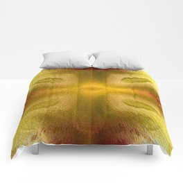 Agate Dreams in Yellow Comforters