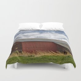Time Passes By Duvet Cover