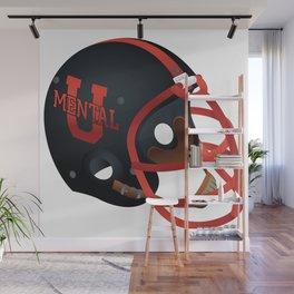 Mental University Football Wall Mural