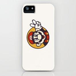 Mario Peace iPhone Case