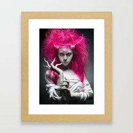 Oni. Framed Art Print