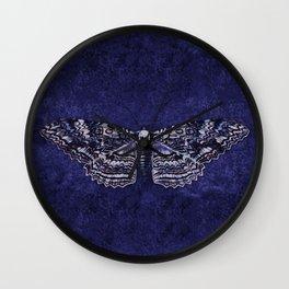 Deathshead Moth Wall Clock