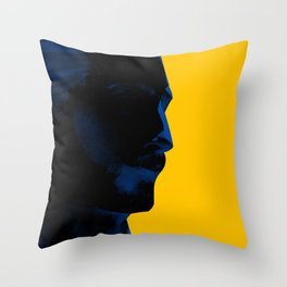 L'homme - electric Throw Pillow