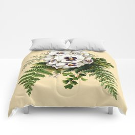 Pansy Easter Egg Comforters