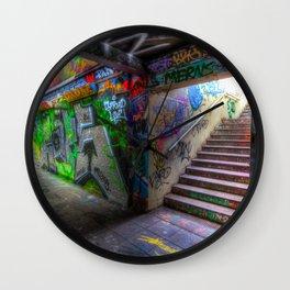 Leake Street London Graffiti Wall Clock