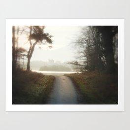 Ireland Path Art Print
